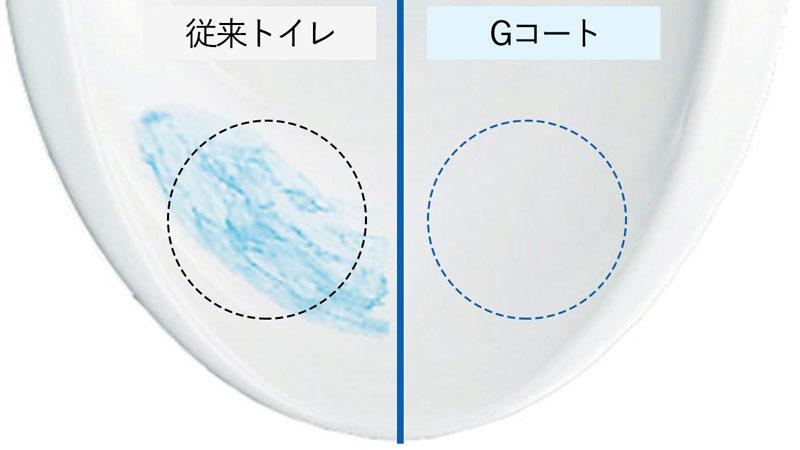 陶器+Gコートで汚れが落ちやすい